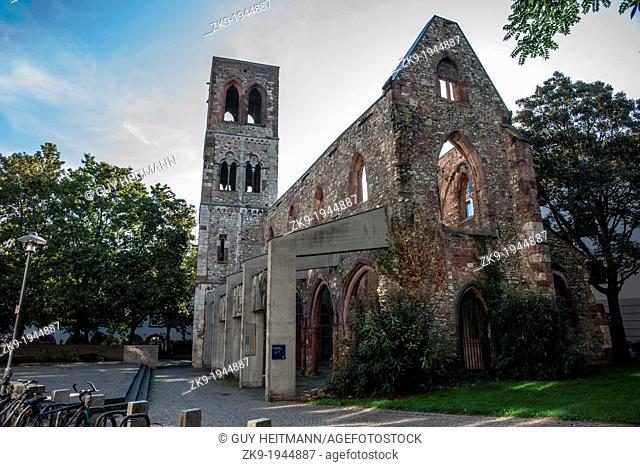Gutenberg batismal site, St. Christopher's Church, Mainz Germany
