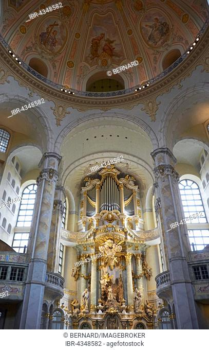 Interior, Church of Our Lady, Dresden, Germany
