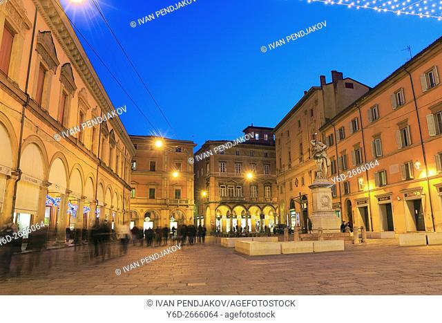 Bologna in the Evening, Italy
