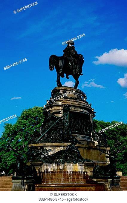 George Washington Statue Philadelphia Pennsylvania, USA