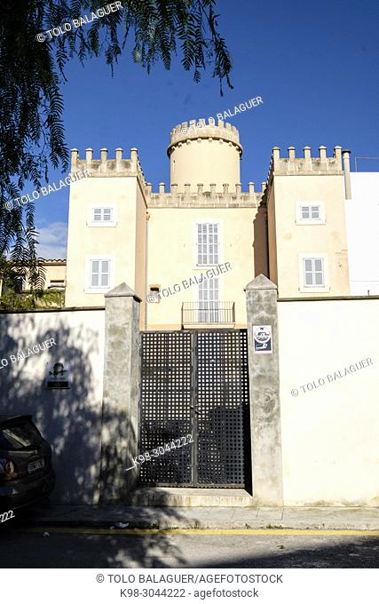 Fundación Cosme Bauçà, Molí d'en Bou, construida por Cosme Bauçà en 1962, Felanitx, Mallorca, balearic islands, Spain