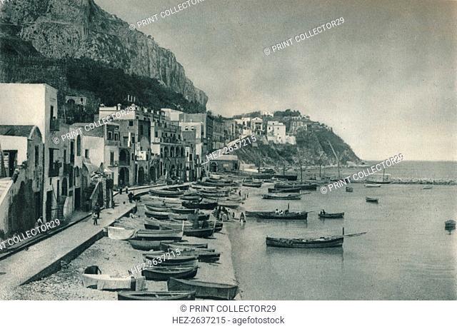 Marina Grande, Capri, Italy, 1927. Artist: Eugen Poppel
