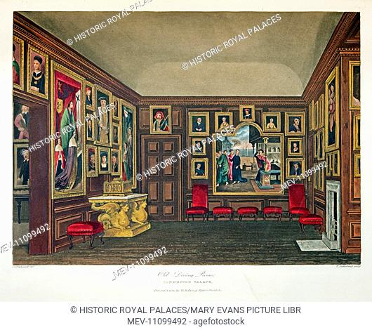 This room was first used by King William III and Queen Mary II as a private dining room. The walls were later hung with portraits of early Kings for Queen...