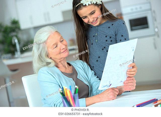 Drawing for grandma