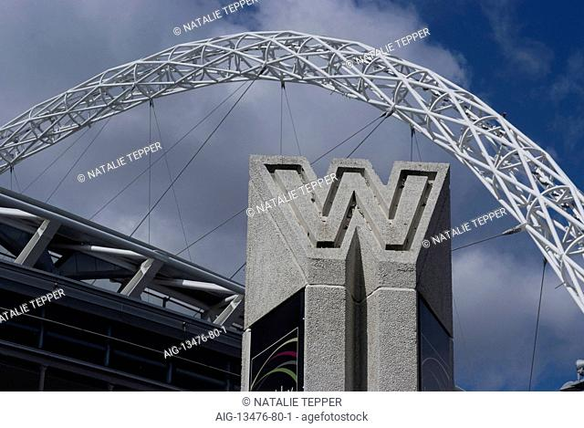 Entrance to Wembley Stadium, Wembley, London, NW10, England