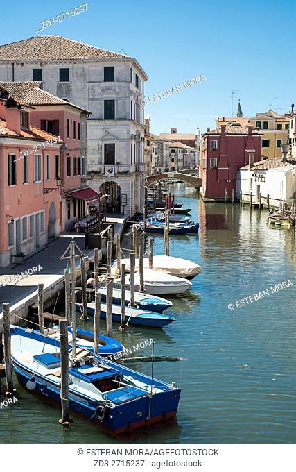 View of Chioggia, Veneto, Italy