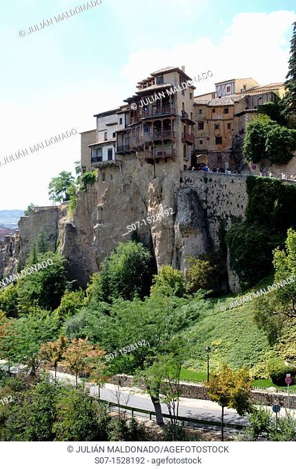 Hanging Houses of Cuenca, Castilla La Mancha, Spain
