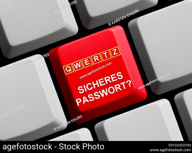 QWERTZ - Sicheres Passwort?