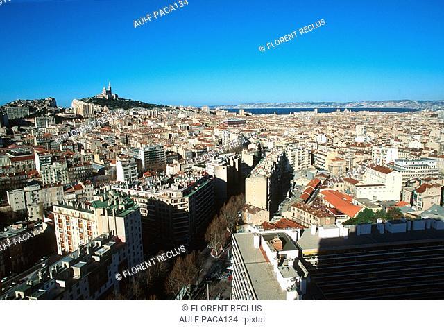Provence - Marseille - Notre-Dame de la Garde