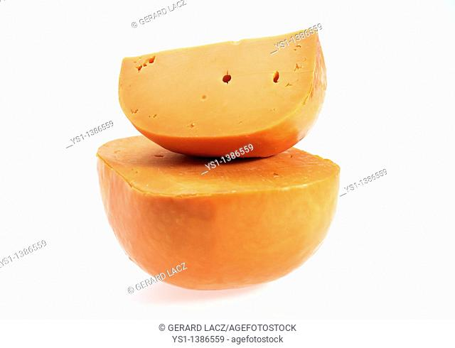 French Cheese called Mimolette, Cheese made with Cow's Milk