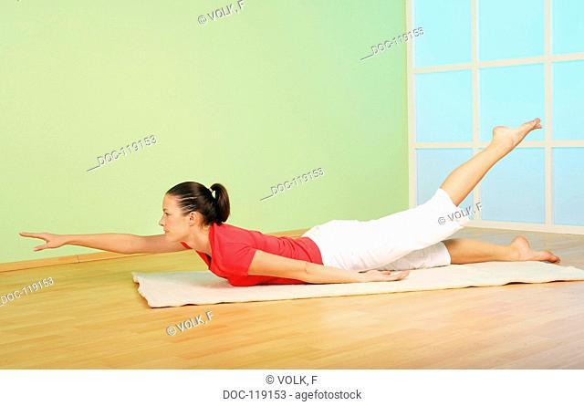 I am flexible and nimble - yoga exercise