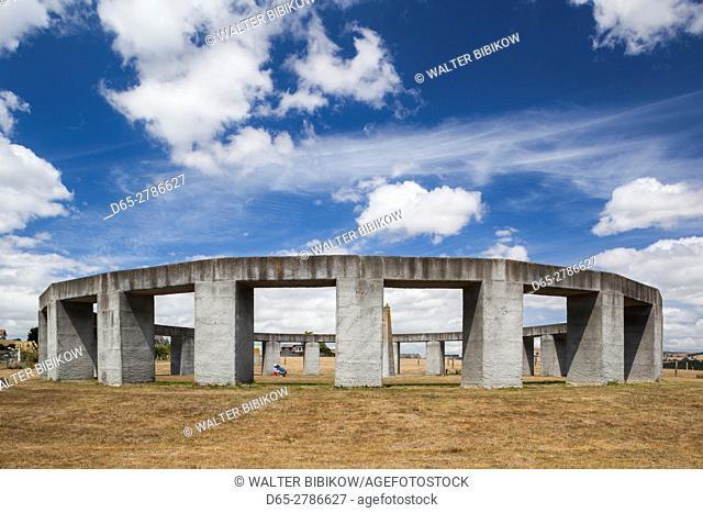 New Zealand, North Island, Greytown, Stonehenge Aotearoa, Stonehenge of New Zealand