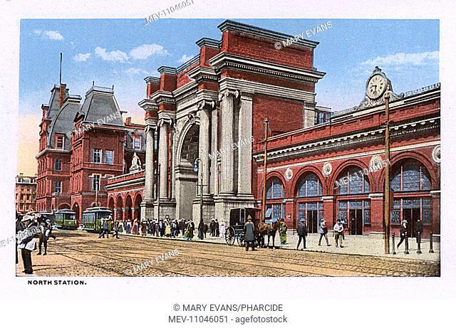 North Station, Boston, Massachusetts, USA