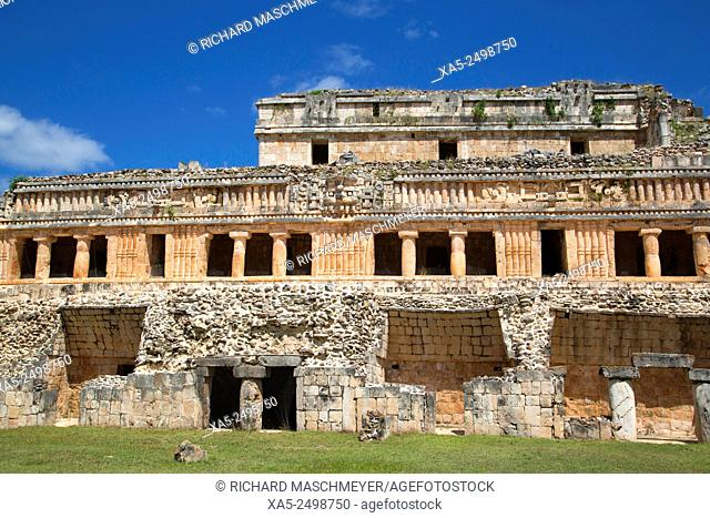 The Palace, Sayil, Mayan Ruins, Yucatan, Mexico