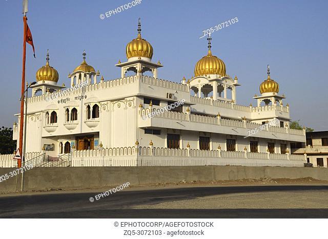 Side View, Gurudwara Guru Singh Sahib, Dehu Road, Pune, Maharashtra