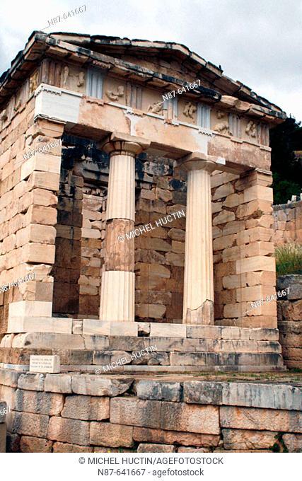 Delphi. Greece