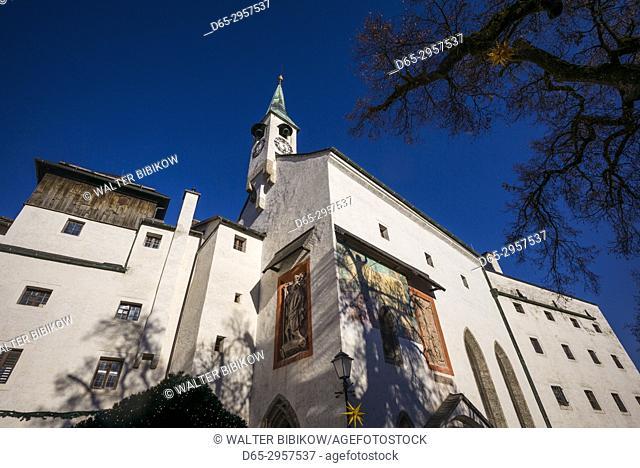Austria, Salzburgerland, Salzburg, Festung Hohensalzburg Castle