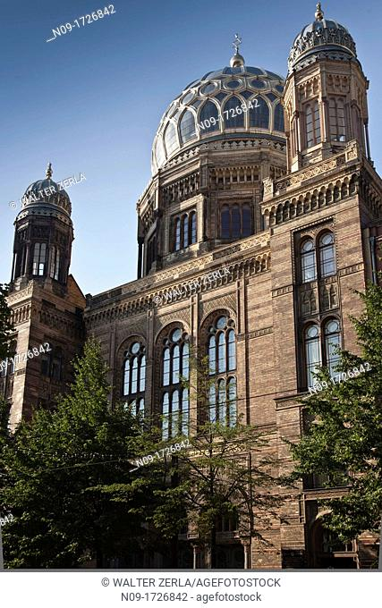 Europe, germany, berlin, synagogue