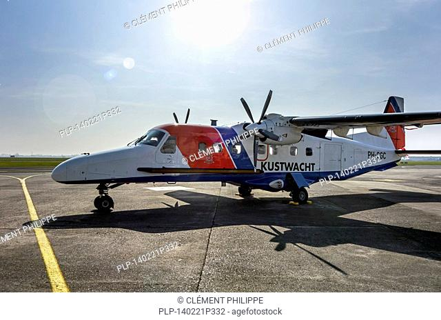 Dutch coastguard aircraft, type Dornier 228-212 managed by the Royal Air Force, the Netherlands