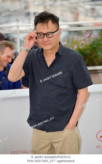 Eric Khoo, member of the jury Cinefondation Photocall 70th Cannes Film Festival May 26, 2017 Photo Jacky Godard