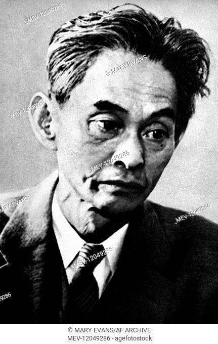 Yasunari Kawabata Writer & Nobel Prize For Literature Winner 1968 01 May 1959