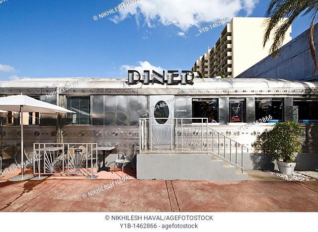 American Diner, South Beach, Miami