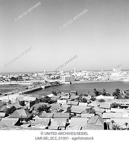 Reise nach Cartagena, Kolumbien 1960er Jahre. Journey to Cartagena, Colombia 1960s