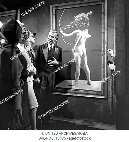 ... adlig sein dagegen sehr!, Musical, Deutschland 1964, Regie: Karlheinz Bieber, Darsteller: Lukas Ammann (Mitte)