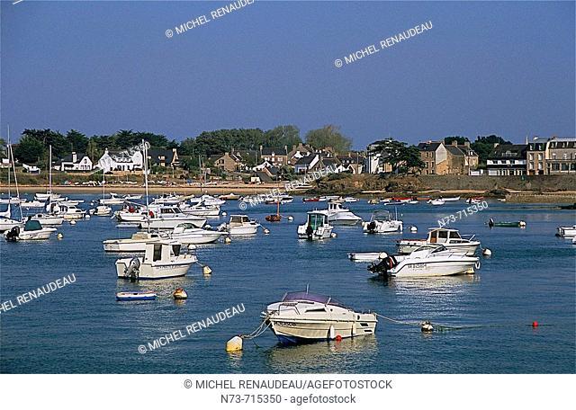 Port-Navalo. Gulf of Morbihan, Bretagne, France