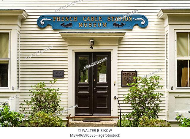 USA, Massachusetts, Cape Cod, Orleans, French Cable Station Museum