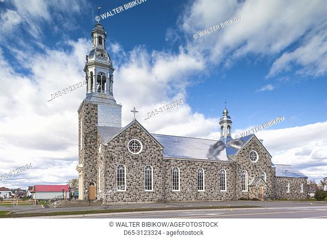 Canada, Quebec, Gaspe Peninsula, Bonaventure, town church