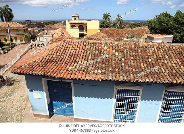 Panoramic view of the historic city of Trinidad, Cuba