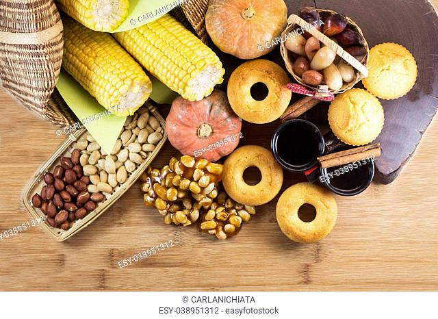 Brazilian farm coutry food for June feast
