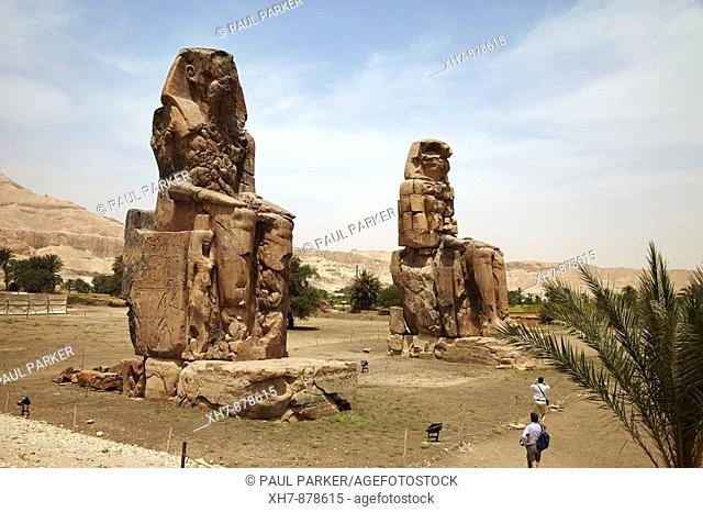 Colossus of Memnon, Thebes, Luxor, Egypt
