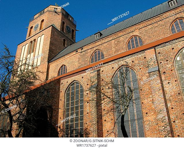 St. Peter's Church in Wolgast