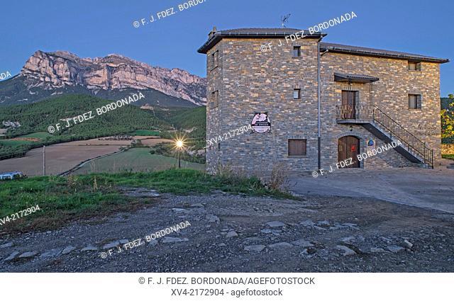 Pueyo de Araguas small village, Sobrarbe, Huesca, Aragón, Spain