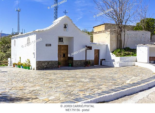 The Alpujarra, Andalusia, Spain: New hermitage built with popular contributions in memory of the Eternal Father
