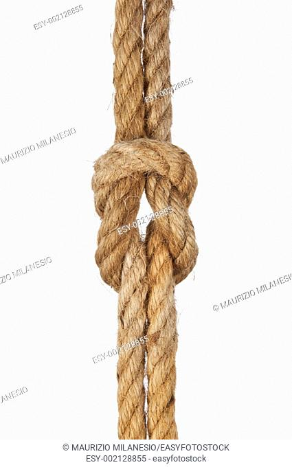 Node with string on white background