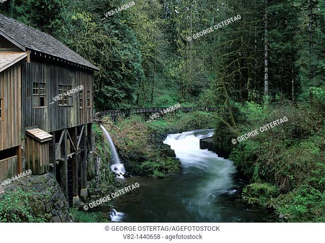 Cedar Creek Grist Mill, Cowlitz County, WA