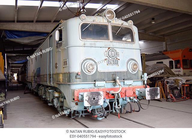 Alsthom locomotive