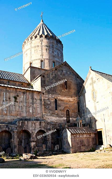 St. Gregory the Illuminator Church, Sts. paul and peter cathedral and Funeral chapel of Gregory in Tatev Monastery in Armenia