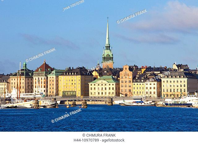 Sweden, Stockholm - The Old Town
