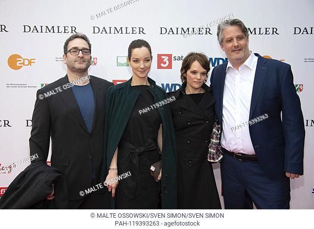 from left: Erol YESILKAYA, Author, xxxx Saskia MARKA, Sebastian MARKA, Director, Red Carpet, Red Carpet Show, Arrival, arrival