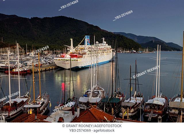 Thomson Spirit Cruise Ship, Marmaris, Mugla Province, Turkey