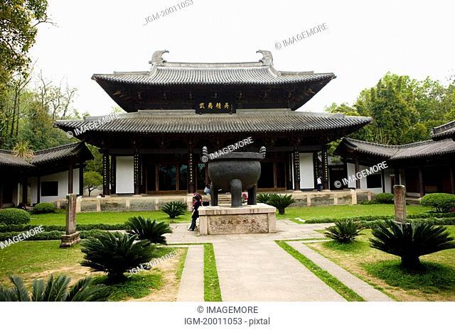 Asia, China, Fujian, UNESCO, World Cultural Heritage, World Natural Heritage, Wuyi Mountain, Wuyi Palace Scenic Area, Zhu Xi Memorial Hall