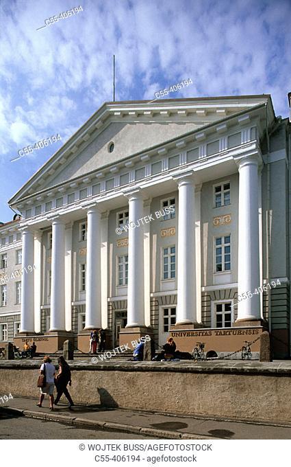 University. Tartu. Estonia