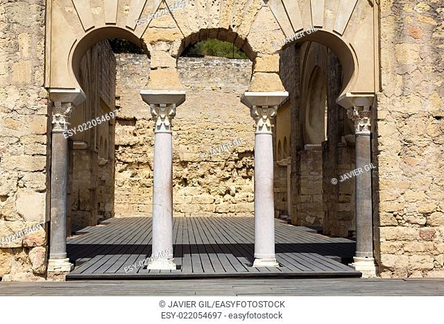Madinat al-Zahra, Medieval Archaeological Complex, Cordoba, Andalusia, Spain