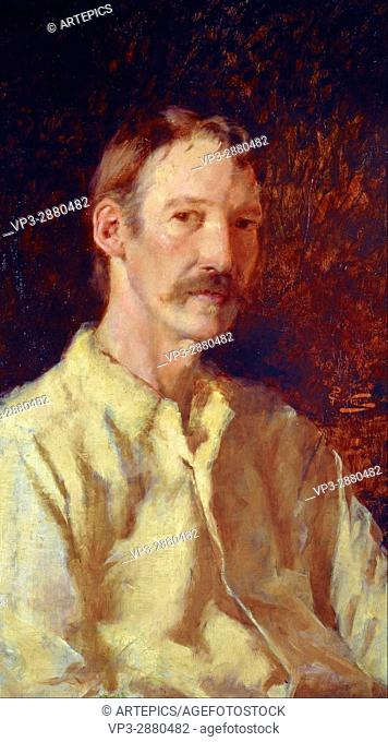 Count Girolamo Nerli - Robert Louis Stevenson, 1850 - 1894. Essayist, poet and novelist - National Galleries of Scotland