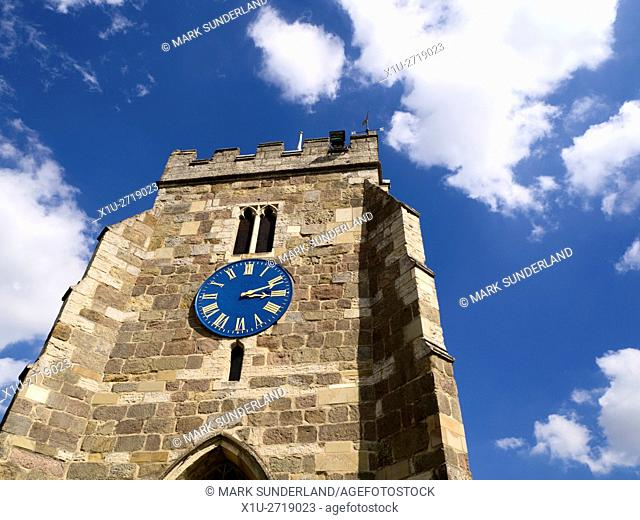 St Andrews Parish Church at Aldborough Yorkshire England