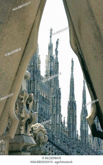 Italy, Milan, Duomo